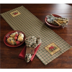 Cabin Table Runner - Two Options