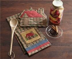 Cabin Decorative Dish Towel