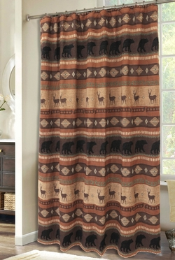 Autumn Trails Shower Curtain