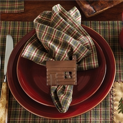 Cabin Placemats and  Napkins - Set of 4 each