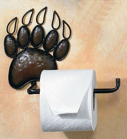 Bear Paw Toilet Tissue Holder