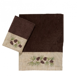 Pine Branch Towel Set