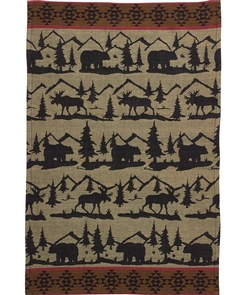 Great Outdoors Jaquard Dish Towel