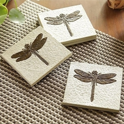 Dragonfly Coaster - Set of 4