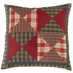 Cabin Patch Throw Pillow - 16