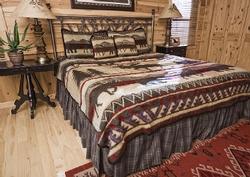 Ceder Run Fleece Bedding Set and Blankets