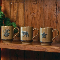 Sawmill Brown Mug - Sawmill Bear OR Moose