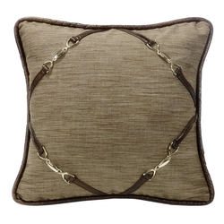 Highland Lodge Square Accent Pillow