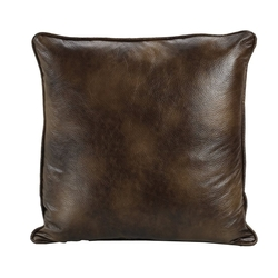 Faux Leather Euro Sham
