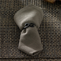 Tweed Napkin - Charcoal - Set of 2