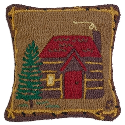 Cabin In The Woods Pillow - 18