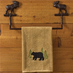Moose Towel Bar - Two Sized