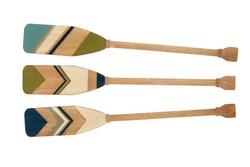 Wooded Boat Oars - Set of 3