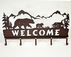 Welcome Bear Hooks
