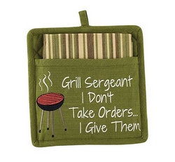 Grill Sergeant Pot Holder Set