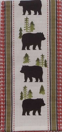 Simple Living Bear Tea Towel