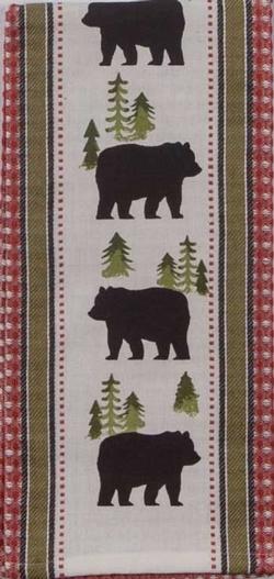 Simple Living Bear Tea Towel