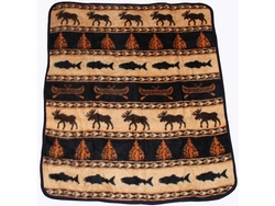 Moose Adventure Throw