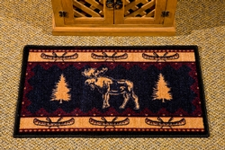 Moose Fever Scatter Rug - 20