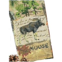 Wilderness Trail Moose Terry Towel