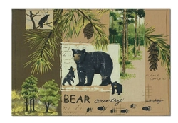 Wilderness Trail Bear Placemat - Set of 2