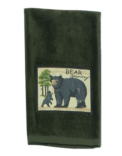 Wilderness Trail Bear Patch Terry Towel