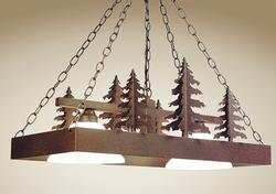Pool Table Light/Lighted Cookware Hanger