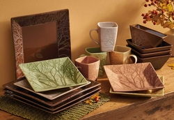 Among the Trees Dinnerware - 16 Pieces