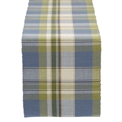 Lake House Plaid Table Runner