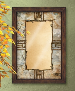 Bark & Twig Mirror