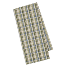 Pond Plaid Dish Towel