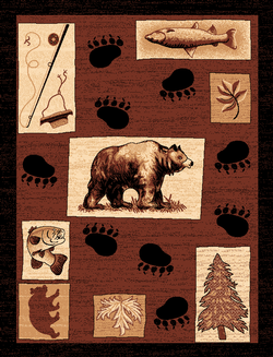 Bear Lodge Rug Series