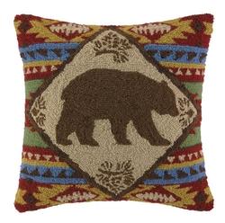 Indian Bear Hook Pillow