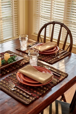 Hayden Placemat - Brown