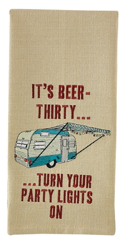 It' Beer Thirty . . .   Kitchen Hand Towel