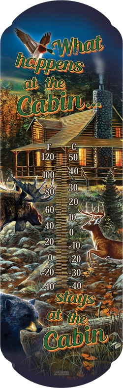 What Happens at The Cabin Thermometer