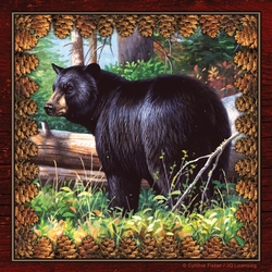 Black Bear Paper Napkins