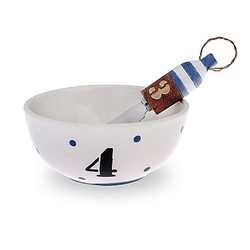 Ahoy Buoy Bowl & Spreader Set