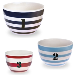 Ahoy Buoy Prep Bowl - Set of 3