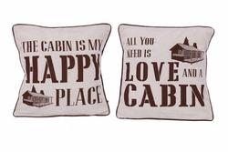 Cabin Sayings Pillow