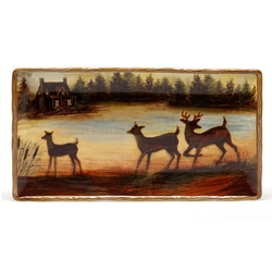 Lakeside Lodge Rectangular Platter -18
