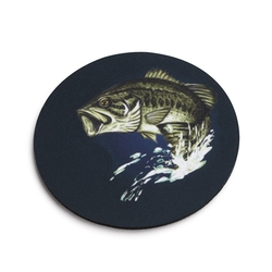 Leaping Bass Coaster - Set of 4