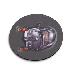 Fishing Reel Coaster - Set of 4