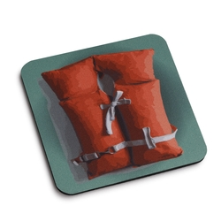 Life Vest Coaster - Set of 4