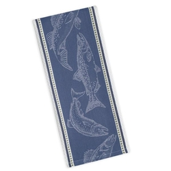 Fish Jacquard Dishtowel