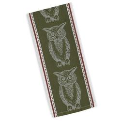 Owl Jacquard Dishtowel