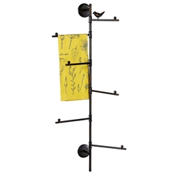 Multi BarTowel Rack with Bird