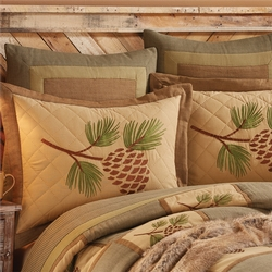 Pineview Pillow Shams - Two Sizes