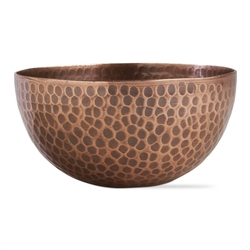 Hammer Copper Bowl