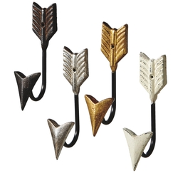 Arrow Wall Hook - Set of 4